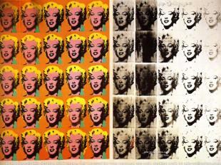 Marilyn Diptych. Artist, Andy Warhol. Year, 1962